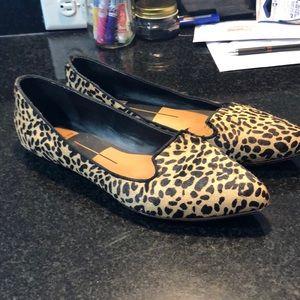 Leopard print flats!!